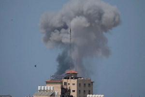 Israel không kích các vị trí của Hamas đáp trả vụ nã đạn cối từ Gaza