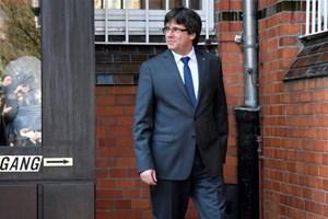 Đức có thể dẫn độ cựu thủ hiến Catalonia Puidgemont về Tây Ban Nha