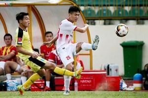 Nam Định trụ hạng V-League thành công sau loạt luân lưu may rủi