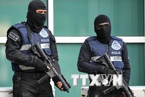 Cảnh sát Malaysia bắt giữ nhiều đối tượng tình nghi khủng bố