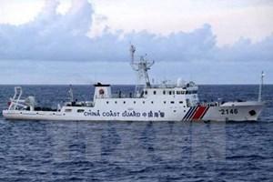 Tàu Hải cảnh Trung Quốc 19 lần xâm phạm lãnh hải Nhật Bản