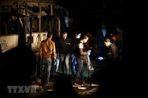 Vụ đánh bom ở Ai Cập: 3 người bị thương nặng lên đường về nước