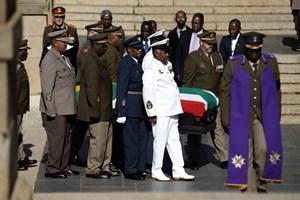 Nam Phi chuẩn bị an táng Mandela tại quê nhà