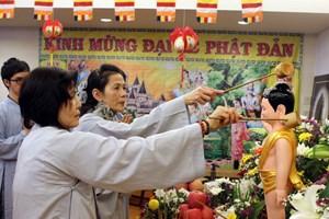 Trưởng ban Dân vận Trung ương chúc mừng Đại lễ Phật đản