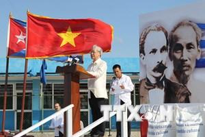 Kỷ niệm 85 năm Ngày thành lập Đảng Cộng sản Việt Nam tại Cuba
