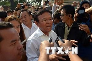 Campuchia: CNRP không đề cử ứng viên mới thay ông Kem Sokha
