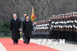 [Photo] Toàn cảnh chuyến thăm Đức của Chủ tịch nước Trương Tấn Sang