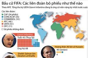 [Infographics] Các liên đoàn bóng đá bầu ai làm Chủ tịch FIFA