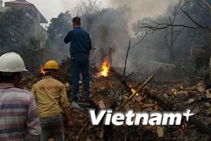 Viện Bỏng Quốc gia điều trị tích cực cho 5 nạn nhân vụ máy bay rơi