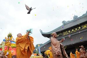 Ninh Bình: Biểu diễn văn hóa nghệ thuật Phật giáo quốc tế