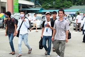 Thái Nguyên tăng cường xe khách trong dịp tuyển sinh đại học
