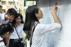 Trường đại học đầu tiên công bố điểm trúng tuyển hệ chính quy