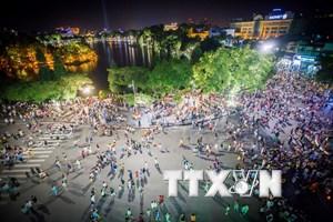 Trên 207.000 lượt du khách đến Hà Nội dịp nghỉ lễ Quốc khánh