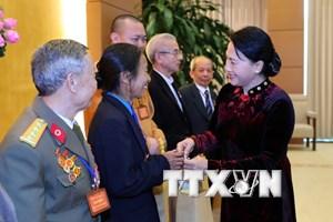 Chủ tịch Quốc hội tiếp đoàn công dân gương mẫu tỉnh Thanh Hóa