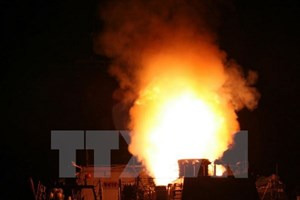 Ông Kim Jong-un lên án Mỹ về vụ tấn công tên lửa vào căn cứ ở Syria