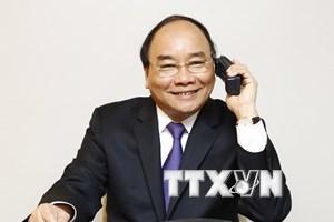 Thủ tướng Nguyễn Xuân Phúc điện đàm với các nghị sỹ Hoa Kỳ