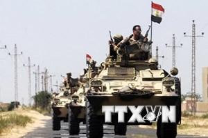 Quân đội Ai Cập tăng cường truy quét các phần tử cực đoan