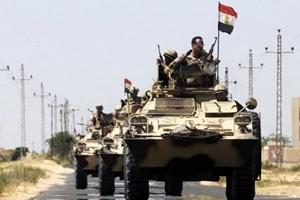 Quân đội Ai Cập đề nghị Tổng thống gia hạn Chiến dịch Sinai