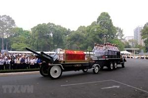 Lời cảm ơn của Ban Lễ tang và gia đình nguyên Thủ tướng Phan Văn Khải