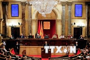Tây Ban Nha từ chối phê chuẩn các đề cử vào chính quyền Catalonia