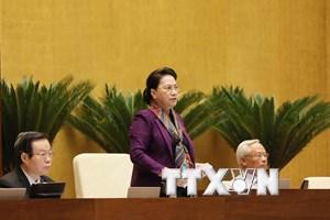 Chủ tịch Quốc hội kêu gọi đồng bào, nhân dân cả nước bình tĩnh