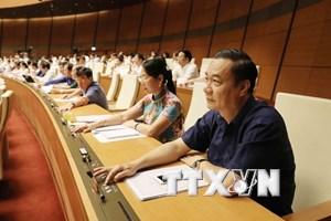 Quốc hội biểu quyết thông qua dự thảo Luật Đo đạc và bản đồ
