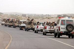 Liên quân và quân đội Yemen triển khai chiến dịch quân sự lớn