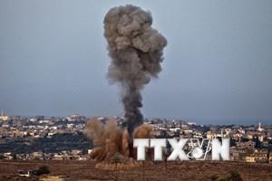 Quân đội Israel không kích đáp trả các vụ nã pháo từ Gaza