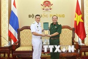 Hải quân hai nước Việt Nam và Thái Lan thúc đẩy quan hệ hợp tác