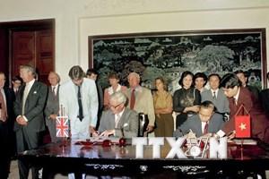 Hình ảnh tiêu biểu về quan hệ ngoại giao Việt Nam-Vương quốc Anh