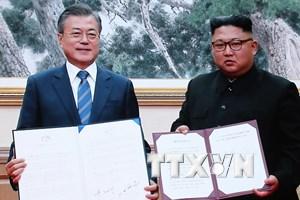 [Mega Story] Nấc thang mới cho hòa bình trên bán đảo Triều Tiên