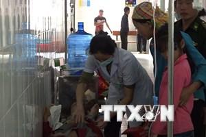 170 em học sinh nghi ngộ độc ở Hà Giang đều đã được xuất viện