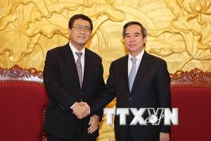 Giáo sư Nhật trao đổi sáng kiến nâng cao năng suất lao động Việt Nam