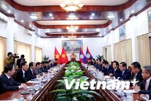 Việt Nam và Lào tăng cường hợp tác giữa hai cơ quan kiểm tra Đảng