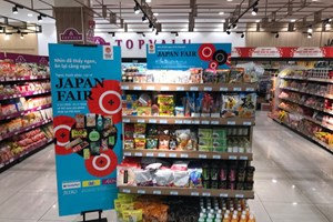 """Thực phẩm và sản phẩm thiết yếu của Nhật """"đổ bộ"""" vào Việt Nam"""