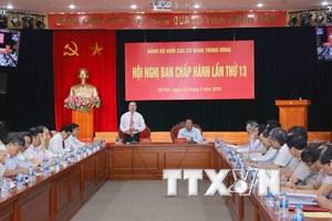 Đảng bộ Khối các cơ quan Trung ương và 5 bài học về xây dựng đảng