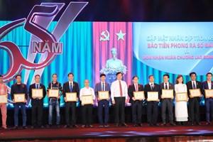 Thư chúc mừng của Tổng bí thư, Chủ tịch nước gửi báo Tiền Phong
