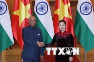 Chủ tịch Quốc hội Nguyễn Thị Kim Ngân hội kiến Tổng thống Ấn Độ