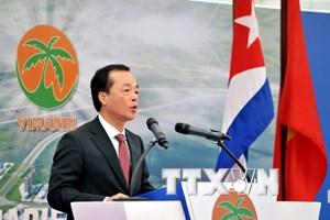 Viglacera khởi công khu công nghiệp đầu tiên tại đặc khu của Cuba
