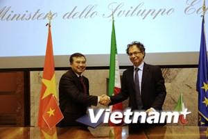 Việt Nam-Italy hướng đến hợp tác kinh tế thiết thực, hiệu quả