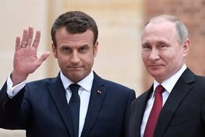 Lãnh đạo Nga, Pháp điện đàm về tình hình Syria và Ukraine