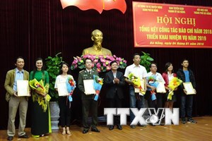 Truyền hình Thông tấn giành giải nhất giải báo chí về Đà Nẵng