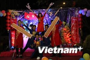 Đầm ấm Tết sum vầy của lưu học sinh Việt Nam tại Campuchia