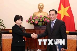 Thúc đẩy quan hệ hợp tác Việt Nam-Nhật Bản trên tất cả các lĩnh vực