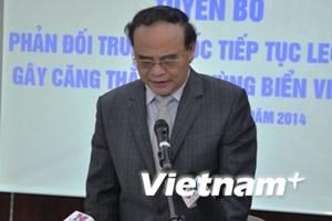 Hội Luật gia Việt Nam sẵn sàng chuẩn bị hồ sơ pháp lý về Biển Đông