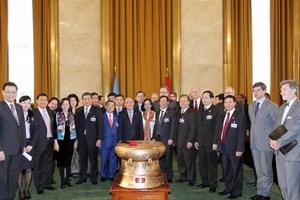 Chủ tịch Quốc hội thăm nơi ký kết Hiệp định Geneva