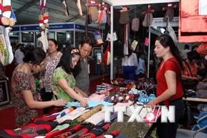 Đậm sắc màu truyền thống tại Liên hoan du lịch làng nghề Hà Nội