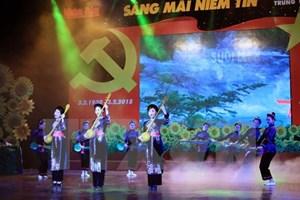 Đặc sắc chương trình nghệ thuật mừng ngày thành lập Đảng