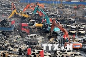 Hàm lượng xyanua tại Thiên Tân cao gấp 356 lần mức an toàn