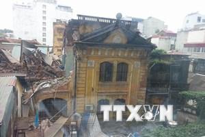 Hà Nội bố trí chỗ ở tạm cho các hộ dân trong vụ sập biệt thự